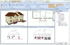 3d hausplaner cad software zur hausplanung cadvilla. Black Bedroom Furniture Sets. Home Design Ideas